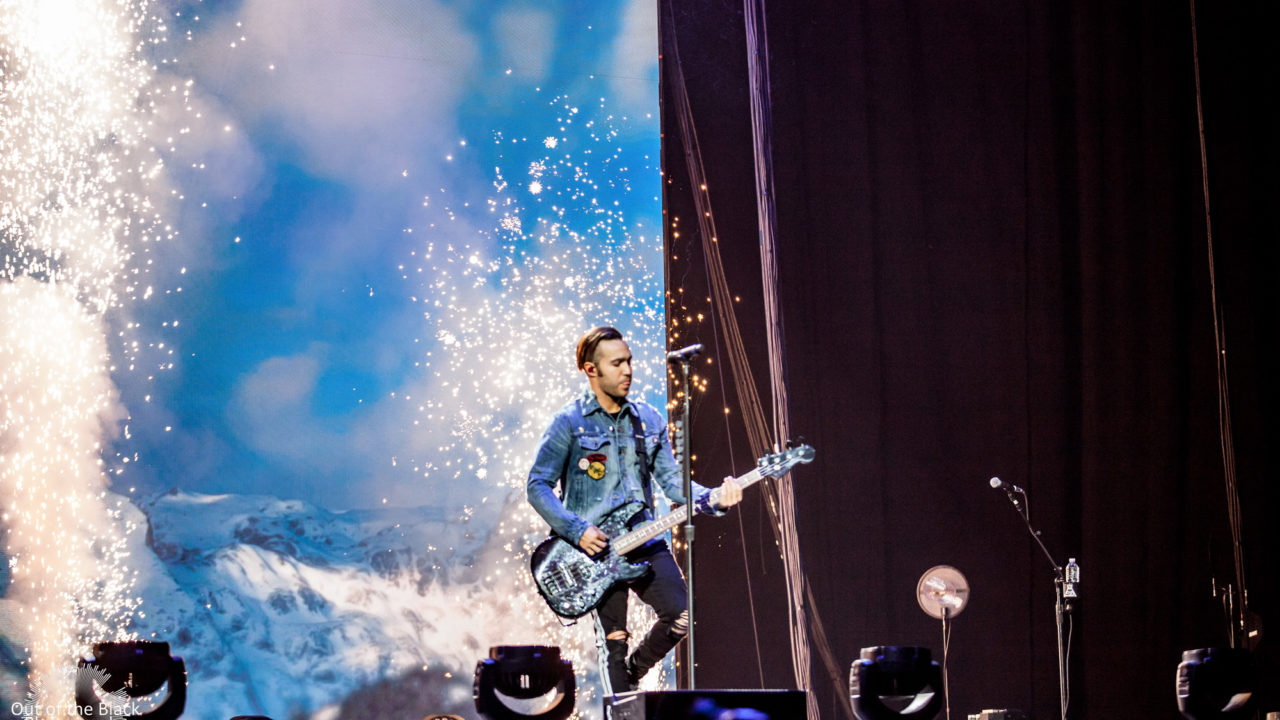 Fall Out Boy Performs At Scottrade Center In Saint Louis 06 4773