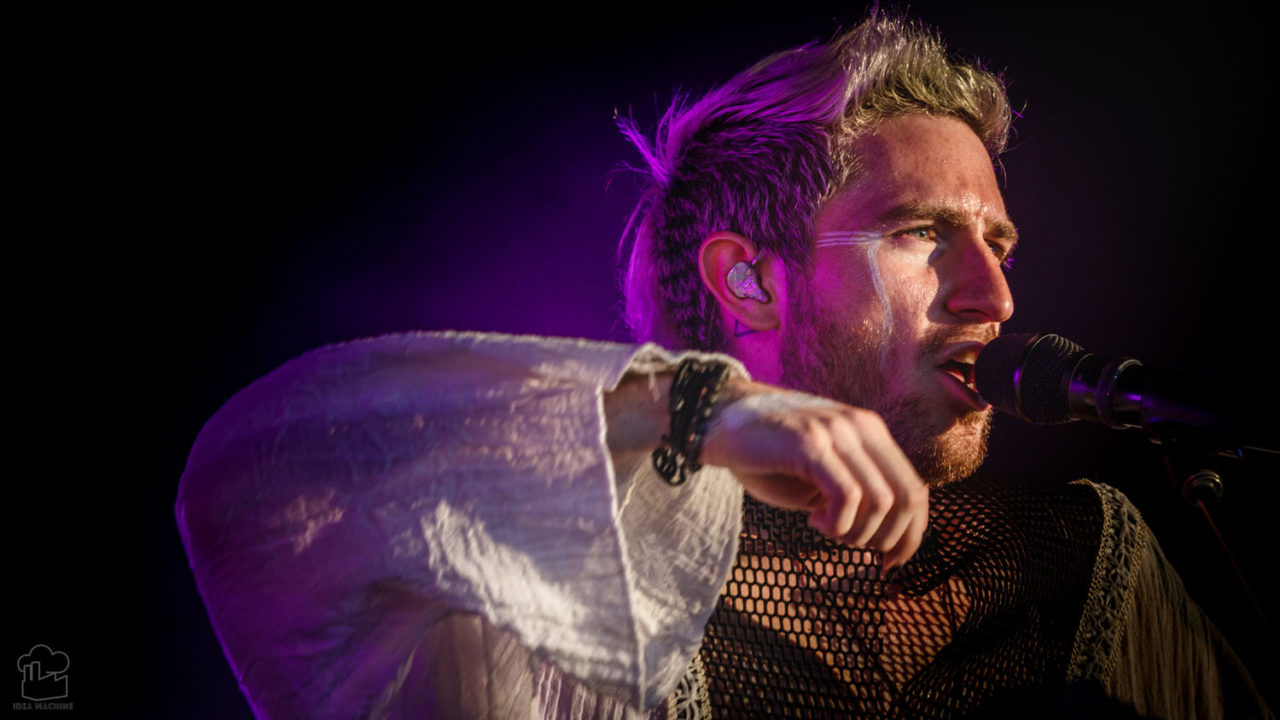 Walk The Moon play a Point Big Summer Show at Hollywood Casino Amp. in 2018 22 148201