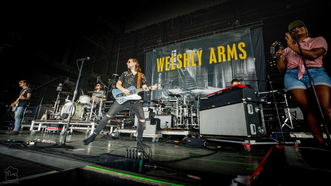 Welshly Arms play a Point Big Summer Show at Hollywood Casino Amp. in 2018 59 148238