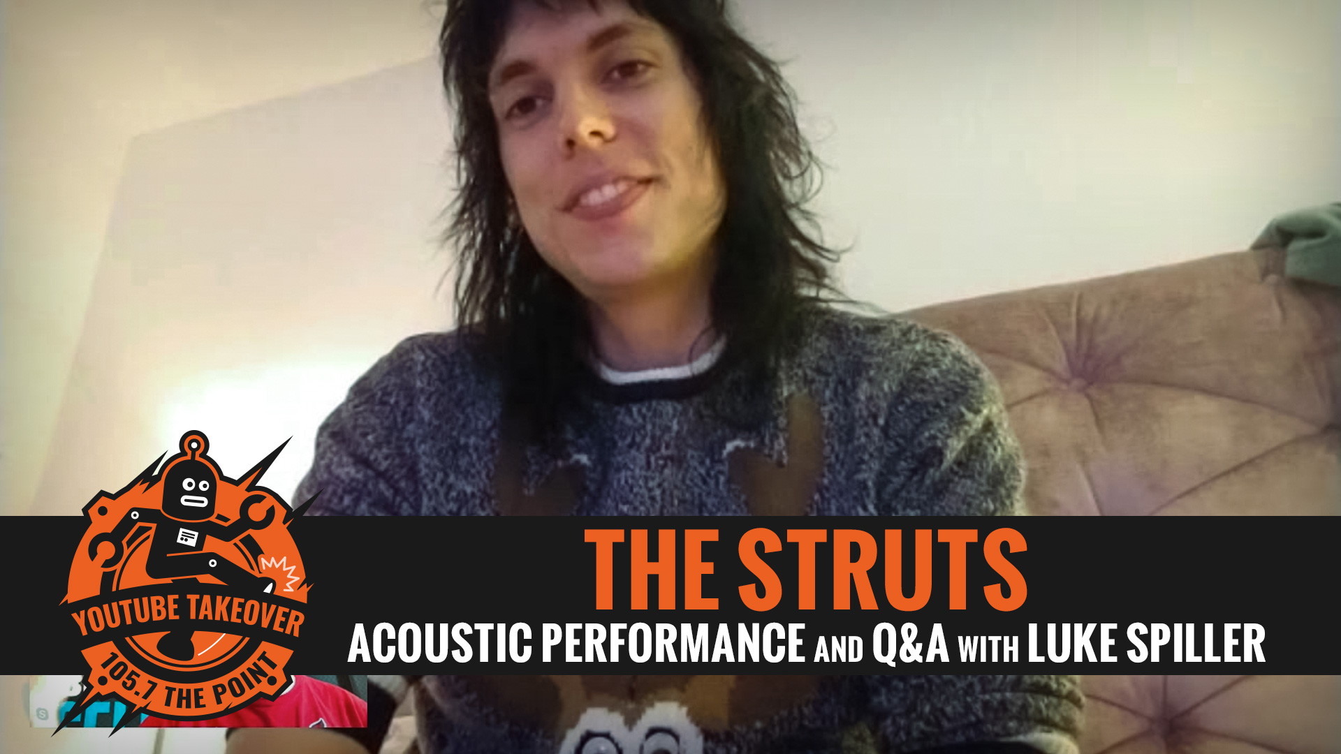 THE STRUTS! Live Q&A with LUKE SPILLER