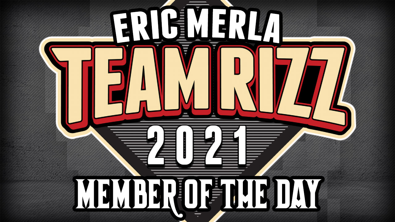 Eric Merla is today's Team Rizz member of the day!
