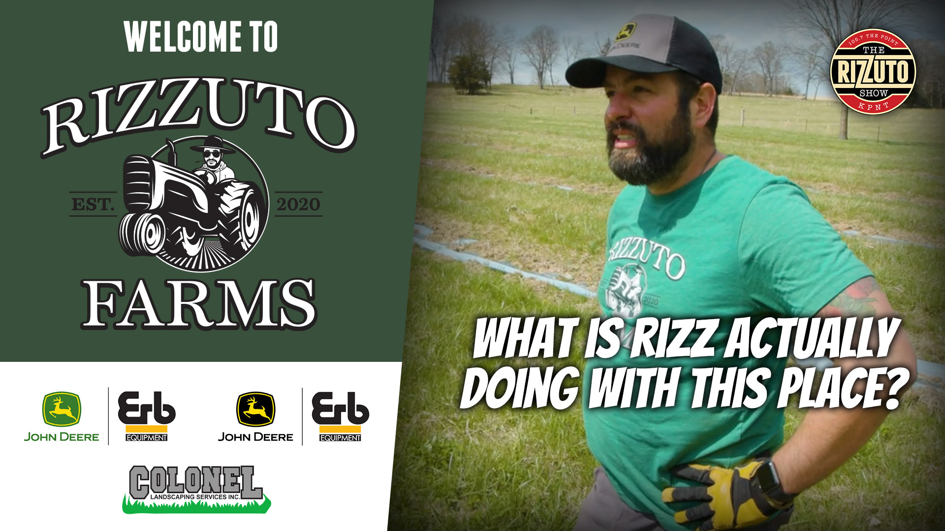 What is RIZZUTO actually doing at RIZZ FARMS? Apparently it has something to do with elderberries...