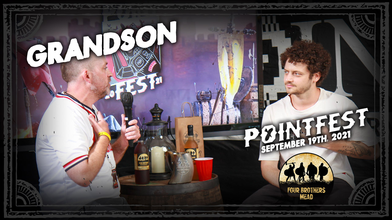 grandson on 'Death Of An Optimist' and moving forward in spite of doubt  [POINTFEST 2021]