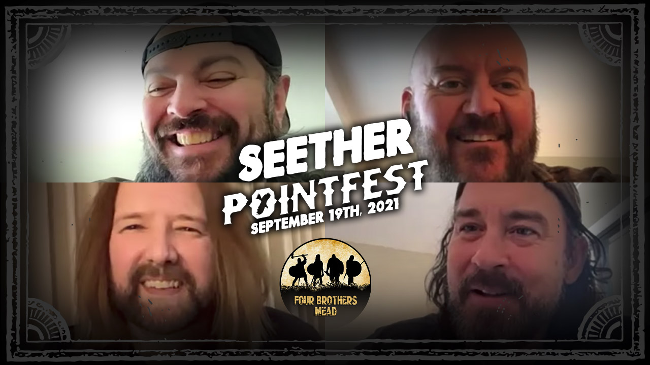 SEETHER reflects on 20+ year career, leaving family behind to tour,and more! [POINTFEST 2021]