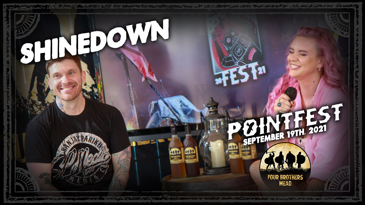 SHINEDOWN's Brent Smith talks 7th album, Direct Relief, ATTENTION ATTENTION film [POINTFEST 2021]